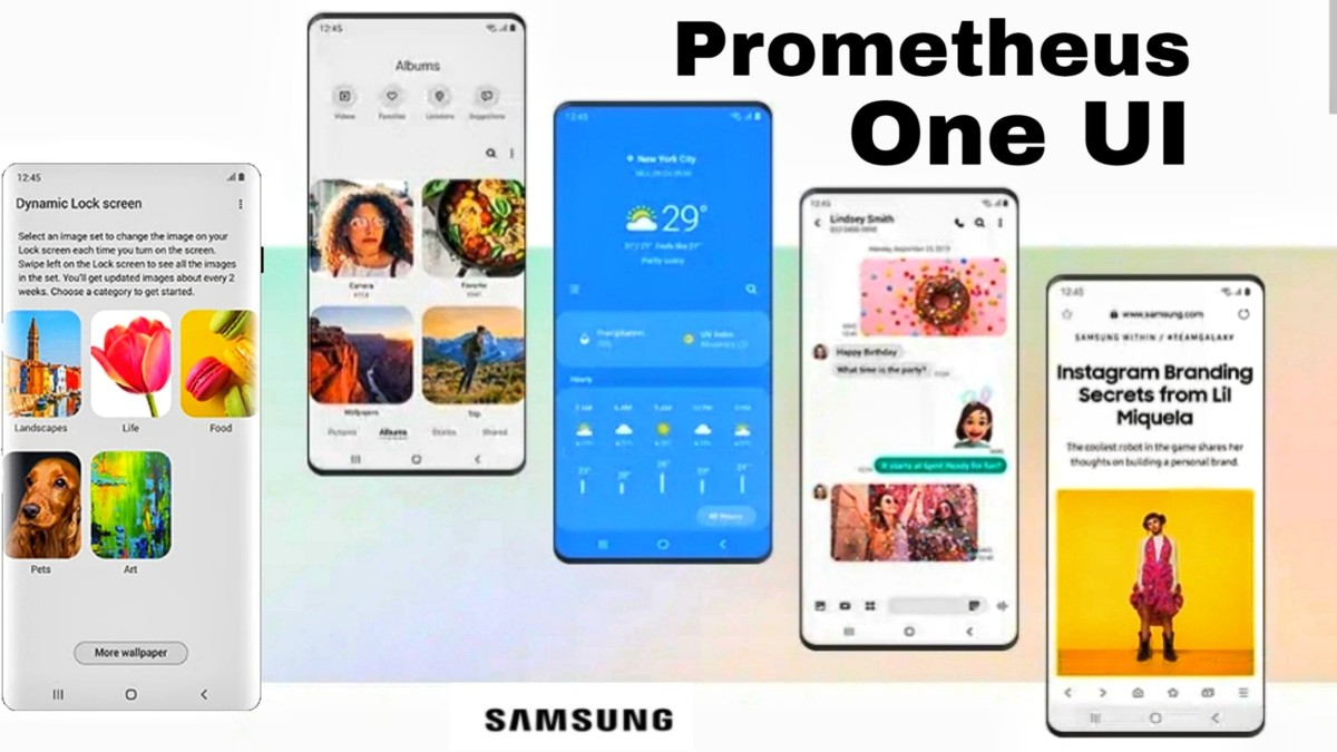 rom prometheus one ui